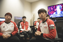 ROX vs SKT - Day 1 Semifinals (lolesports) Tags: worlds leagueoflegends worldchampionship worlds2016 knockoutstage semifinals lolesports lol rskt sktelecomt1 newyorkcity newyork usa