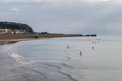 Paddleboarders (Kieron Pelling) Tags: hastings eastsussex seafront paddleboarders calm