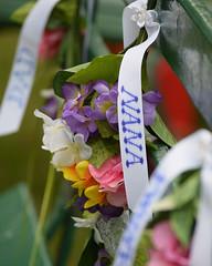 Dad & Nana Bench (dalenewsted) Tags: bench flowers wedding gradma dad nana aggie hawaii weddingbench