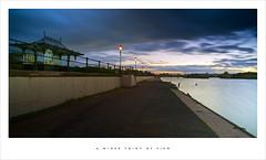 A wider point of view (Parallax Corporation) Tags: southport southportmarina longexposure sky water pagoda waterfront movement bridge sunset lights merseyside blue
