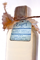 Homemade Limoncello (Wedding favour) (ST-251) Tags: backlit macro mondays limoncello home made homemade wedding favour
