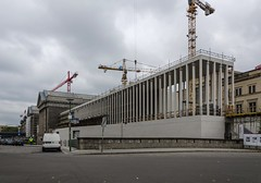 Construction (AstridWestvang) Tags: architecture berlin building crane germany museum street