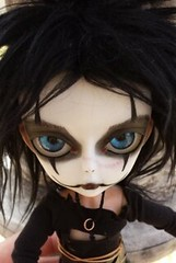 The Crow (Mel's Girls) Tags: thecrow ericdraven hujoo doll ooak custom faceup handmadeoutfit gothic