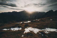 Ive been thinking that I think too much (STEPtheWOLF) Tags: sunrise mountain snow morning glory adventure color mystic clouds sun flare texture alps alpine hike fineart landscape austria salzburg lofer canon 5d3 1740l lee