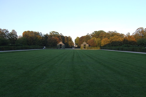Garden of Rastatt Palace, 30.09.2011.
