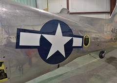 Star (Chris Usrey) Tags: douglas ga airport p82 twin mustang restoration aviation flying