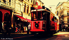 Red Tram (A l p e r a t i k - P h o t o g r a p h y) Tags: photo istanbul pictures turkey landscape beautiful bosphorus touristy photography history phosphorescence xwherry alper atik heritage streetcar taksim beyoglu red tram night black blackandwhite bnw monochrome tagsforlikes instablackandwhite monoart bw lover monotone monochromatic noir nature sky sun summer beach beatiful pretty sunset sunrise blue flowers tree twilight clouds beauty light cloudporn photooftheday follow great photographer more amazing go pro cat flickr blog explore your groups pussy sony
