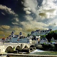 Saint-Aignan-sur-Cher, France (pom.angers) Tags: france europeanunion panasonicdmctz30 2016 saintaignansurcher loiretcher 41 centrevaldeloire july bridge 100 200