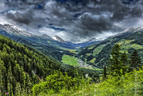 Dark clouds over Val Müstair