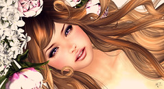 Innocent goddess (meriluu17) Tags: snowrabbit goddes innocent girl young closeup face portrait people fantasy cute sweet girly child