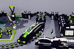 Blacktron II Base details (stephann001) Tags: base blacktron black classic cs schip space lego