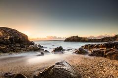 Praia de Labruge (Daniel Caridade) Tags: labruge vila do conde praia beach sea mar oceano ocean rocks rochas pôrdosol sunset portugal ao ar livre paisagem costa areia beiramar