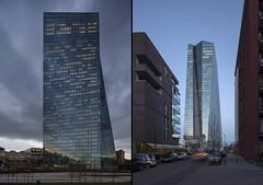 mm_European Central Bank design by  Coop Himmelb(l)au_03 (milimetdesign) Tags: coophimmelblau ecb europeancentralbank frankfurt germany banking deconstructivistarchitecture euro finance modernarchitecture