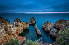 The Ocean view (Mika Laitinen) Tags: atlanticocean canon7dmarkii europe portugal beach landscape nature ocean outdoor sea seascape shore sky summer water lagos faro pt cliff rock