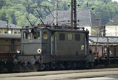 ÖBB electric loco 1045.12 Attnang-Puchheim