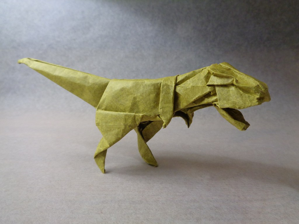 the worlds best photos of origami and tyrannosaurus