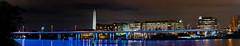 DC Skyline (Pixel-Poison Photography) Tags: christmas historicbuildings longexposure night nightphotography washington bridges dc nikond300s tamron90mm monument mandarinoriental francis case memorial bridge