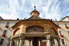 Neustift 26 (WR1965) Tags: italien sdtirol altoadige autonomeprovinzbozen neustift stiftneustift klosterneustift chorherren augustiner brunnen weltwunder leuchtturm pharos alexandria