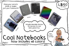 -RC- Cool Notebooks (-RC- Cluster) Tags: notebook teen idol homework notes list drawing pencil pen cartoon glitter rebel rainbow horses notation write writing lists listing note book school college