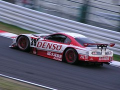 Toyota Supra during 2003 Suzuka GT 300 km (racing is life) Tags: jgtc all japan grand touring championship super gt toyota supra