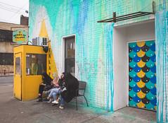 Yellow Cabin (Stefano Auzzi) Tags: newyork nyc manhattan urban canon stauzz 2016 art architecture photography nofilter brooklyn murales graffity bushwick colourfull mobile falafel door seventy