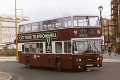 LOTHIAN REGIONAL TRANSPORT 716 A716YFS (bobbyblack51) Tags: lothian regional transport 716 a716yfs leyland olympian eastern coach works edinburgh 1996