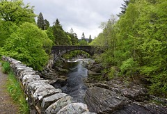 Bridge Over Frigid Water (H.Fenske) Tags: wilderness discovery travel adventure explore hike backpack outdoor scotland europe greatglenway bridge nature