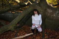 IMG_5347 (Kira Dede, please comment my photos.) Tags: kiradede kirad 2016 crossdresser copenhagen lingerie stockings upskirt dyrehaven