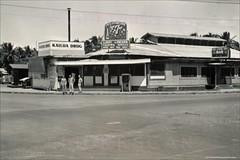 Kailua Drug & Carls Bar 1940s (Kamaaina56) Tags: 1940s kailua hawaii oahu restaurant military realphoto
