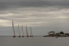 Smooth sailing (Bjørn Svensson) Tags: risør norway risørtrebåtfestival seiling sailing lighthouse