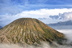 Mount Batok, East Java, Indonesia (Schristia) Tags: mountbatok gunungbatok bromotenggersemerunationalpark volcano landscape eastjava travel indonesia