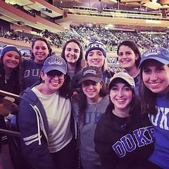 """""""You can take us out of Cameron, but you can never take away our Crazie!"""" -@brittg6911 Duke Alumni attended last night's @dukembb game at Madison Square Garden! 😈💙 #GoDuke #DukeFamily #ForeverDuke (Duke University) Tags: ifttt instagram duke university"""