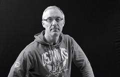 a home studio B&W portrait (areavie@gmail.com) Tags: nikon d7000 portrait studio low key lo male spectacles londonderry vernon appleby
