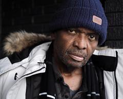 Darrell (jeffcbowen) Tags: darrell street stranger toronto portrait hat fur thehumanfamily
