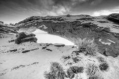 Mesa Arch, sunrise in the fog, Canyonlands National Park, Utah (Richard McGuire) Tags: canyonlandsnationalpark mesaarch us unitedstates utah nationalparks sunrise winter