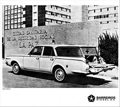 1967 Dodge Ambulance by Barreiros (Spain) (aldenjewell) Tags: 1967 dodge dart ambulance barreiros sa spain station wagon brochure