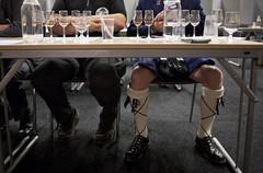Provning Svenska Eldvatten (Svenska Mässan) Tags: socks göteborg kilt sweden traditional cerveza gothenburg whiskey whisky bier cerveja sverige birra alkohol pivo dryck svenskamässan gbgftw enölwhiskymässa svenskaeldvatten enölochwhiskymässa