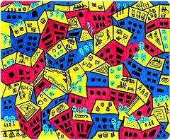 FABIANA BRIZUELAserie quinta fachada: al sol   marcador indeleble  (wochiwow) Tags: sol al arquitectura arte quinta fachada contemporaneo fabiana marcador indeleble brizuela wochiwow metroplanos