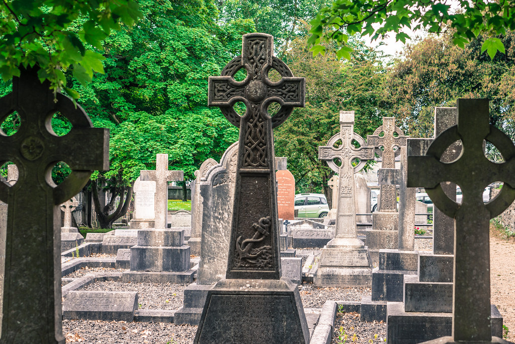 ST. MARY'S CATHEDRAL AND GRAVEYARD IN LIMERICK