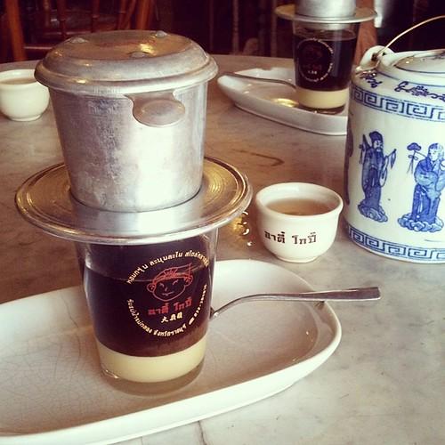 ใช้เวลา จิบชารอไปก่อน #โกปี๊เวียดนาม #กาแฟ #ราชบุรี