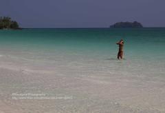 Koh Rong, girl in the water (blauepics) Tags: sea white beach water girl strand island sand cambodia kambodscha meer wasser relaxing happiness tourists insel chilling bikini koh backpacker weiss mdchen rong glcklich entspannen touristen zufrieden