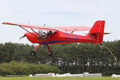 G-CIBF - 2014 build Aeropro Eurofox, about to touchdown at Milfield (egcc) Tags: tug sangster aeropro milfield eurofox bordersglidingclub glidertug rotax912 gcibf laa37615209