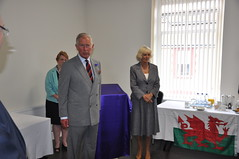 Royal Visit Mining Memorial Senghenydd (senghenyddheritage) Tags: senghenydd nationalminingmemorial