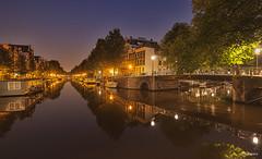 Amsterdam : Herengracht. (alamsterdam) Tags: longexposure amsterdam architecture reflections herengracht earlymorninglight