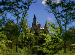 On the way to the castle Hohenzollern - II (KF-Photo) Tags: castle towers trme burg aufstieg hechingen hohe
