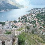 "Looking Down at Dobrota from Kotor's Fortress Walls <a style=""margin-left:10px; font-size:0.8em;"" href=""http://www.flickr.com/photos/14315427@N00/14653907818/"" target=""_blank"">@flickr</a>"
