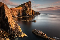 Neist Light (Dave Brightwell) Tags: ocean sunset sea sunlight lighthouse seascape skye canon rocks isleofskye glendale cliffs hitech neistpoint bwnd pagethumbs