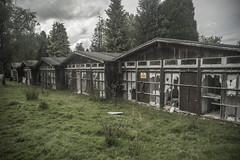 Abandoned Motel (Gordon Haws) Tags: wales pembrokeshire a40 abandonedmotel breconbeaconsnationalpark abandonedanddisused gordonhaws