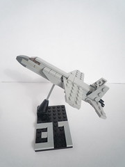 Mig-31 (microairliner) Tags: scale plane airplane model fighter lego aircraft micro combat snot airliner afol microscale microfighter