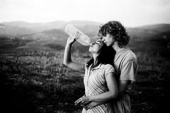 Les Vendangeurs #22 (asketoner) Tags: people france field landscape bottle wine farm harvest grapes beaujolais bully picking